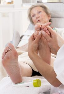 elderly care massage by Holistic Massage Therapist